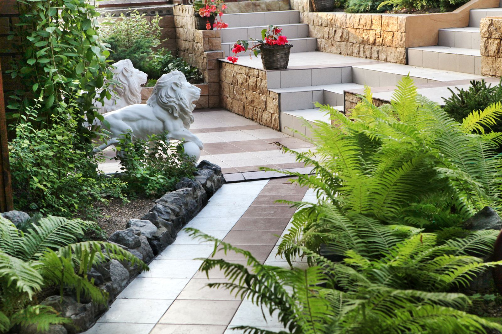 stock photo landscape design 381065488